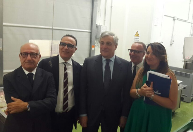 Tajani in visita a Ladisa: